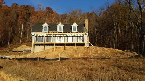 new construction covered deck castlewood madison virginia