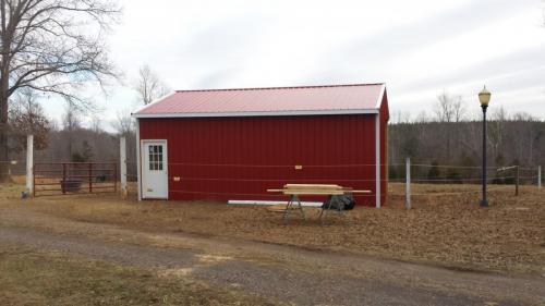 new construction barn castlewood madison virginia