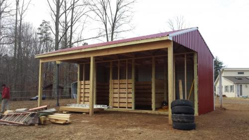 new construction barn castlewood madison virginia
